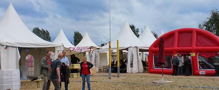 div. Zelte & Dächer