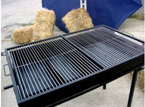Holzkohle grill mieten