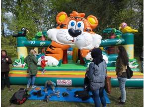 Hüpfburg Big Tiger mieten Berlin