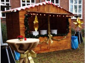 Weihnachtsmarkt - Bude