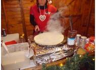 Weihnachts Crepes - stand