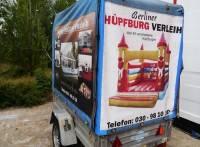 PKW Anhänger für Hüpfburg