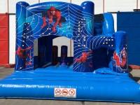 Hüpfburgrutsche Spider