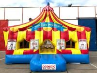 Hüpfburg Zirkuswelt