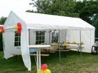 Partypavillon mieten 6m x 3m