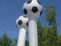 Skydancer Fussball mieten Berlin