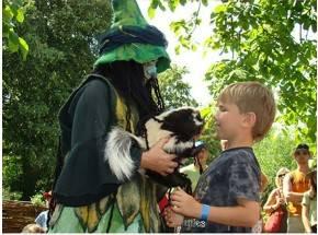 Hexe Tabuba und Ihre Tiere