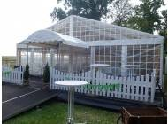 Terrace for professional tents (extension of floor)