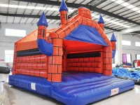 Bouncy Camelot with slide