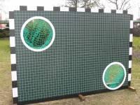 Aluminium-Goal wall