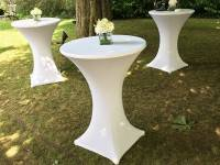 Upright table cover